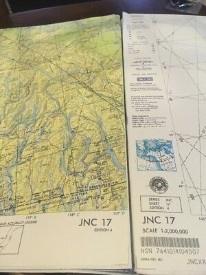 JNC 17 Operational Navigation Chart