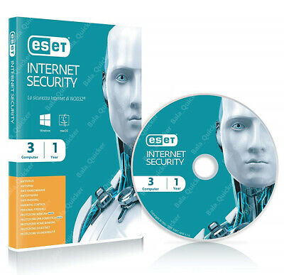 ESET NOD32 AntiVirus 2018/19, 1 PC-1 Year -Windows & Mac online key ( 365 Days)