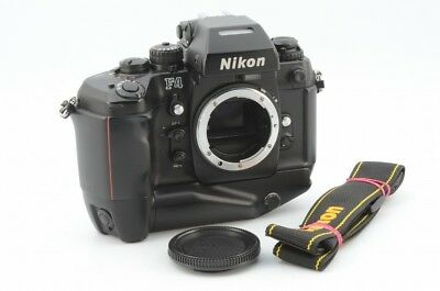 Excellent Nikon F4S 35mm SLR Film Camera Body w/ MB-21 #1463