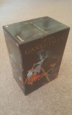 Gankutsuou Count Of Monte Cristo Series Limited Ed DVD Collector Box Set Anime