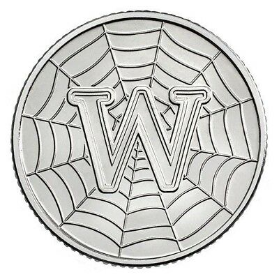 2018 Letter W 10p Coin - WWW WORLD WIDE WEB Great British Coin Hunt - Royal Mint