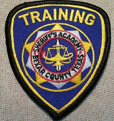 TX Bexar County Texas Sheriff's Training Academy Patch (3.5In)