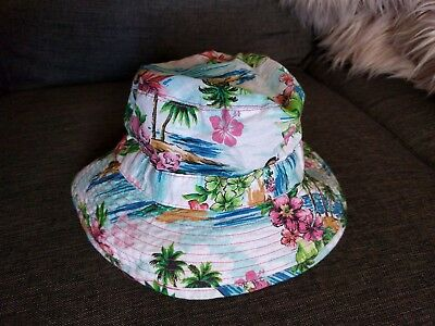 Gumboots Girls Hawaiian Hat  size S BNWT