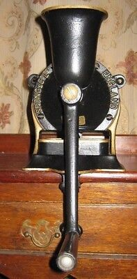 Large No 3 Cast Iron Spong Coffee Grinder