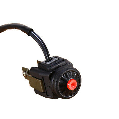 """7/8"""" Kill Stop Handlebar Switch Horn Button For Motorcycle Bike Quad FL"""