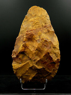 ANCIENT Flint HAND AXE - Acheulean Civilization - 20.5 cm LONG - Sahara