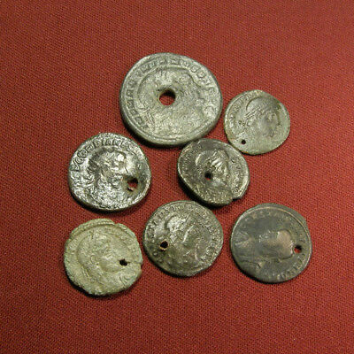 Lot of 7 Barbarian medals/ amulets