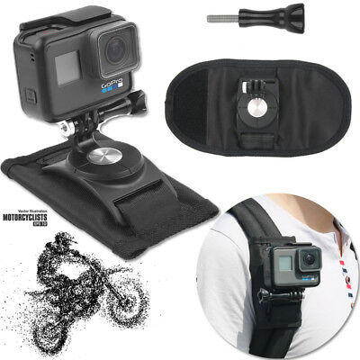 Riding Backpack Mount Motorcycle Holder For GoPro Hero 4 5 6 Accessory Camera US