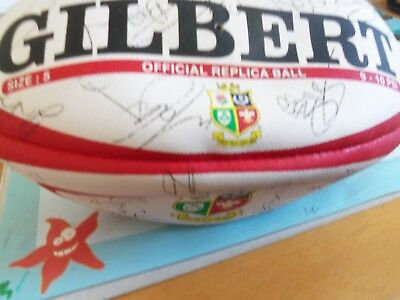 British Lions Signed Rugby Ball Tour Of New Zealand 2005