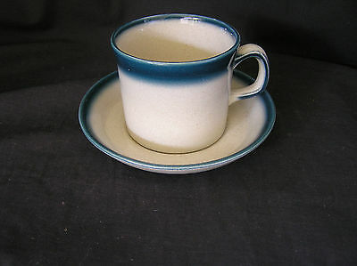 Wedgwood Blue Pacific Cup & Saucer
