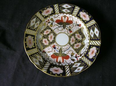 """Aynsley 5500 Bread & Butter Scalloped 6 1/8"""" Plate, Imari Style"""