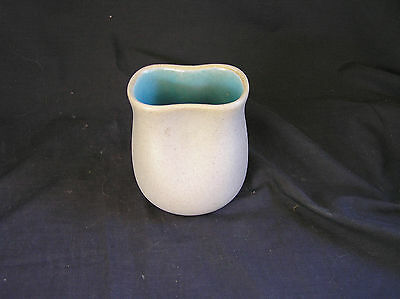 """Pigeon Forge Pottery Blue Pinch Pot Vase, 4"""" Tall"""