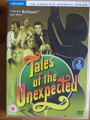 TALES OF THE UNEXPECTED - COMPLETE SERIES SEVEN (1984/7) 3 Disc DVD set