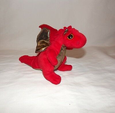 Ty Beanie Baby - Legend the Red Dragon