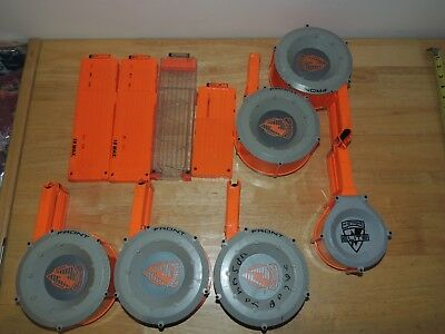 Lot of 10 Nerf Gun Clips