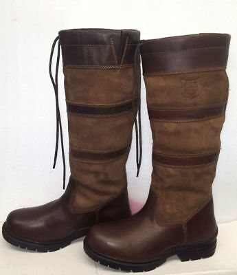 NEW ELT Waldhausen Fur Lined Waterproof Country Yard Boot RRP £195 size UK 5(38)