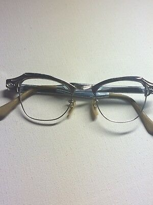 NEW OLD STOCK BAUSCH & LOMB GOLD FILLED WOMENS Eyeglass frame
