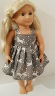 """18"""" Handmade Unicorn Dolls Clothes To Fit Our Generation Design A Friend"""
