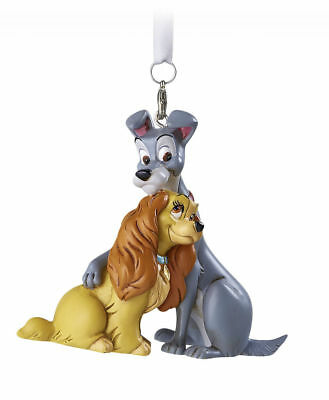 Disney Parks LADY and the TRAMP 3D Christmas Holiday Ornament New