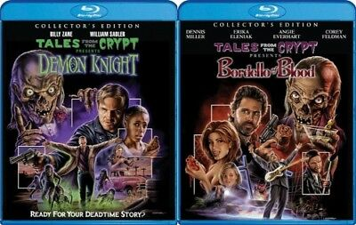 TALES FROM THE CRYPT DEMON KNIGHT + BORDELLO OF BLOOD New Blu-ray Collector's Ed