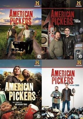AMERICAN PICKERS SEASON 1 + VOLUMES 2 3 4 New 9 DVD History Channel