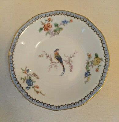 Theodore Haviland Limoges Paradise Candy Dish 6.25 in Vintage Porcelain