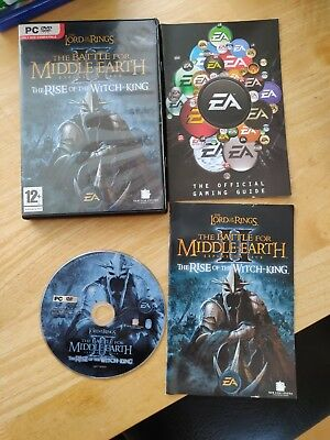 PC Lord of the Rings Battle for Middle Earth 2 Rise of the Witch King Expansion