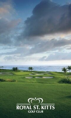 Royal St. Kitts Golf Club 3 Round Voucher
