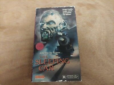 The Sleeping Car VHS - cult, horror vhs - SEE NOTES