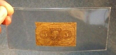 ++  United States Fractional Currency 5 Cents  Thomas Jefferson Postal ++