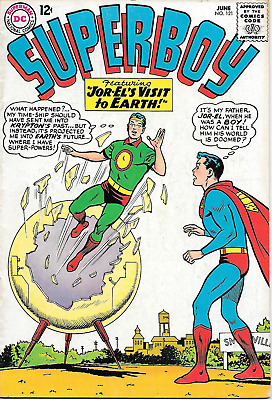 Superboy #121 (DC Comics, June 1965) 5.0 VG/F