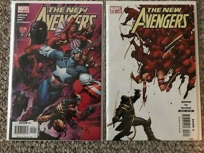 New Avengers #12 and #27- first appearance of Ronin (Hawkeye), HOT, NM- Endgame