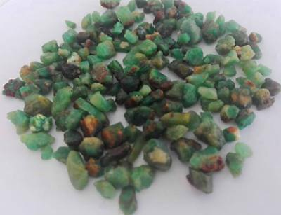 Wow 216ct 100%Natural Emerald Rough smalll Crystal Lot from Sawat pakistan