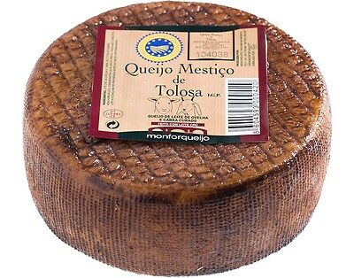1 Tasty WHOLE UNIT TOLOSA MESTIZO CHEESE (Sheep and Goat milk) from Portugal