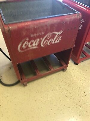 Vintage 1940's Coca Cola Ice Cooler