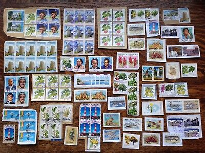 Collection Of Barbados Stamps Kiloware