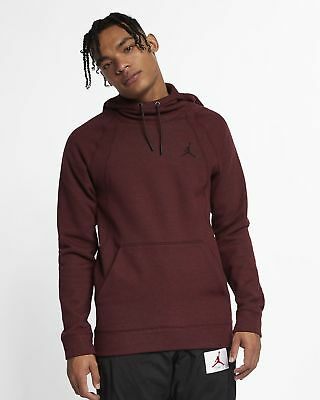 9112f849bd74 Air Jordan Wings Fleece Hoodie - LARGE - 860200-652 Burgundy Dark Black  Maroon