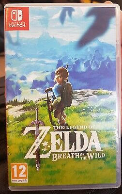 The Legend of Zelda Breath of the Wild (Nintendo Switch 2017) - USED