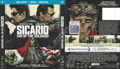 Sicario: Day of the Soldado (SLIPCOVER ONLY for Blu-ray)