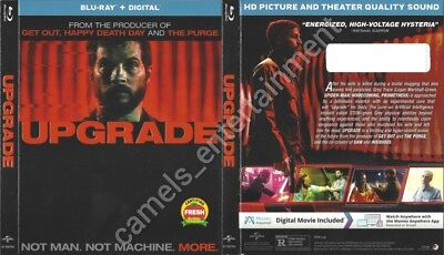 Upgrade (Blu-ray SLIPCOVER ONLY * SLIPCOVER ONLY)