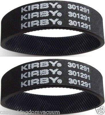 Kirby Genuine Vacuum Belts  Upright Vacuum Cleaner Knurled 2 Included MPN 301291