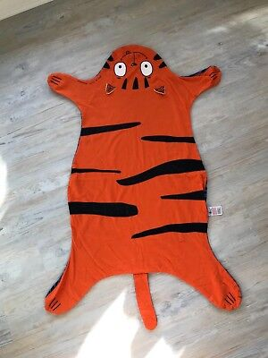 Smile by julien Macdonald baby blanket play mat rug cat tiger wrap snuggle