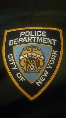 New York City Police Dept NYPD shoulder patch.