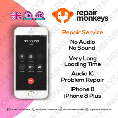 Repair Service For Iphone 8 8 Plus Audio Ic  No Sound Long Boot