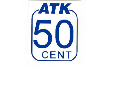 """Privatpost: ATK Celle """"Logo 50ct, magere Wertziffer"""" xx"""