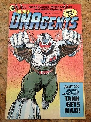 "DNAgents #2 (Nov 1985, First Comics) NM/MT 9.8. (Tank) ""We Aren't The World!"""