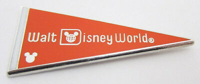 Orange Pennant COMPLETER - 2010 Hidden Mickey WDW Pennant Collection Disney Pin
