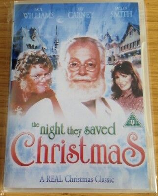 The Night They Saved Christmas (1984 Dvd) Region 1 Usa Canada