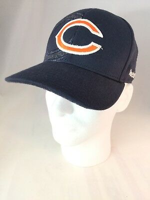 NFL Chicago Reebok Embroidered Baseball hat cap size S M Equipment NFL On  Field ff048dfbf