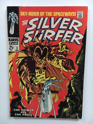 silver surfer 3 First Appearance of Mephisto Fantastic Four